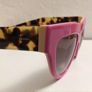 89ca0def2000 Prada Accessories - Prada Cateye Neon Pink Tortoise Gradient 🕶